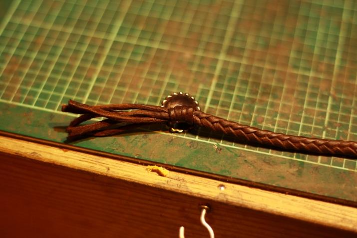 革 ブレスレット作り方 18