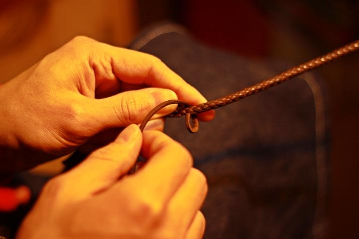 革 ブレスレット作り方 3