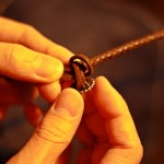 革 ブレスレット作り方 10
