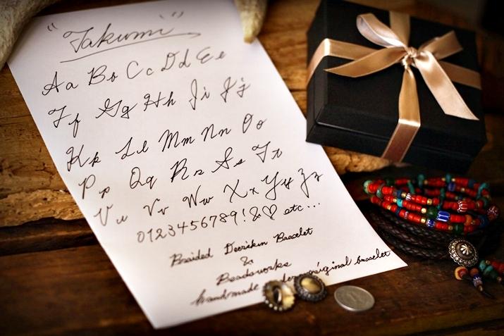 コンチョ 刻印 サンプル文字
