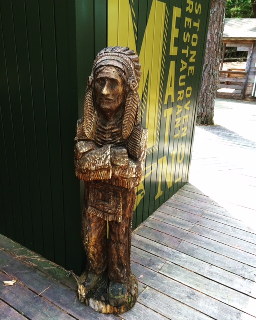 木彫り ネイティブアメリカン