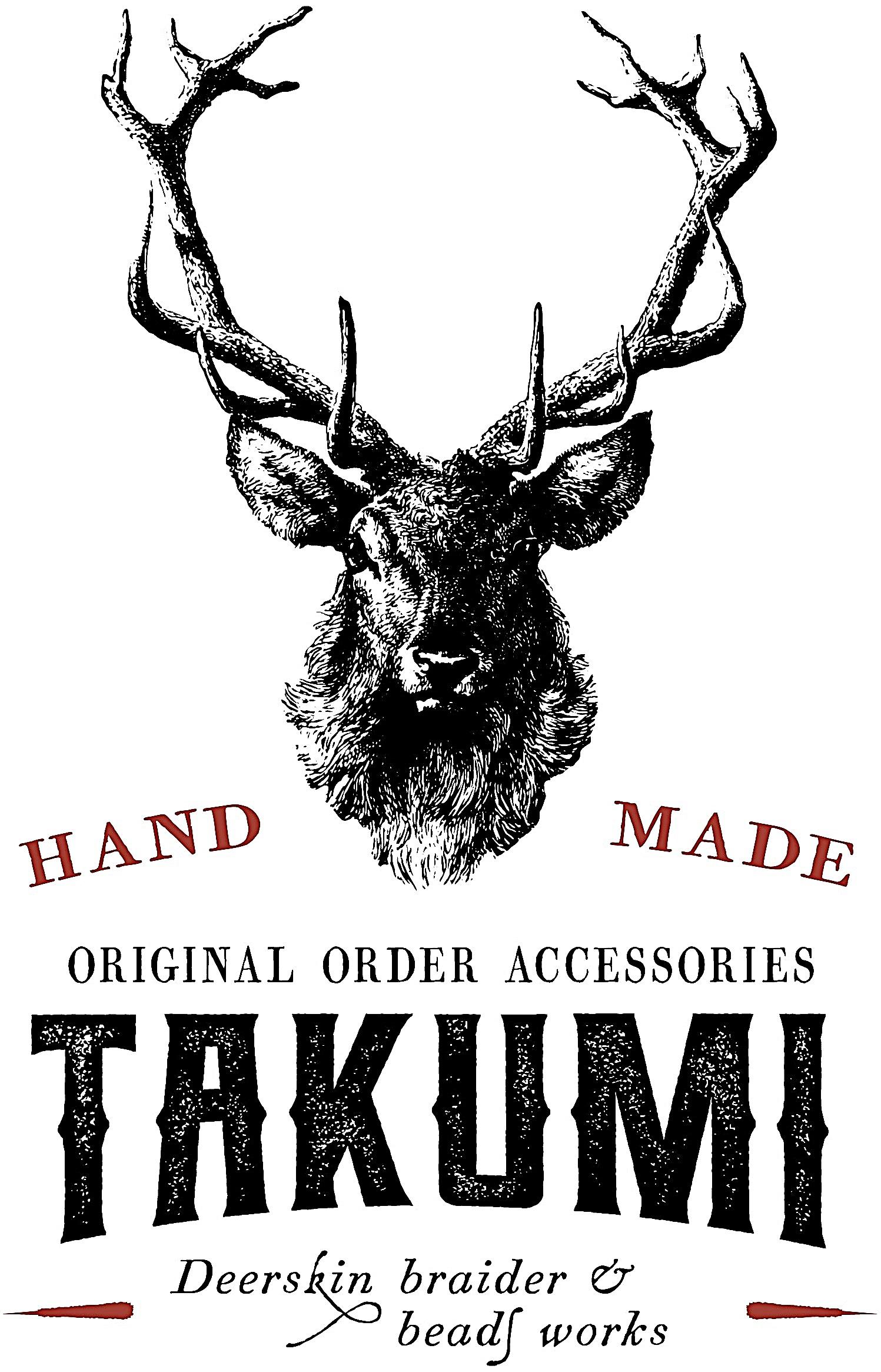 Takumi 鹿革を編む&ビーズワークス オーダーメイド レザーブレスレット・アンクレット